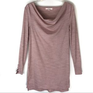 Anthropologie Pure + Good Cowl Neck Tunic
